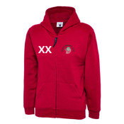 Youth Classic Full Zip Hoodie - with Initials